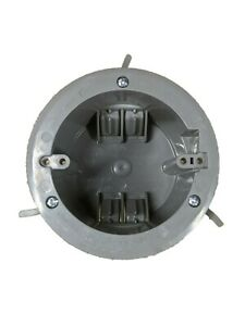 Ceiling Round Old Work Electrical Box 1 gang 18 Cubic Inch