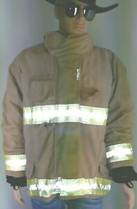 Sperian 46 Firefighter Turnout Bunker Jacket With Liner Fire Rescue
