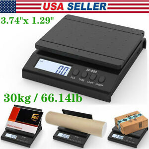 66 Lb X 0 1 Oz Digital Postal Shipping Scale Weight Postage Kitchen 30kg Adapter