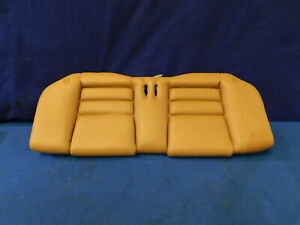 94 95 96 97 98 Ford Mustang Coupe Leather Tan Lower Rear Seat Bottom Used X35