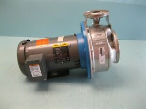 1 X 2 8 Goulds G l Ssh 10ask6 End Suction Centrifugal Pump Motor New P12 2877