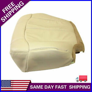 For 1999 2002 Chevy Tahoe Suburban Driver Bottom Seat Cover Light Tan 522 Fits Tahoe