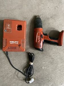 Hilti Sf 150 a Drill Cordless And Charger Sfc 7 18 Sfb 150 Untested
