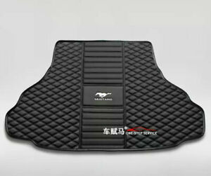 Fit For Ford Mustang 2005 2021 Car Trunk Mats