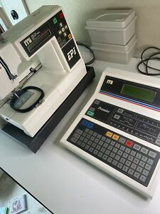 Melco Ep1 Commercial Embroidery Machine With Melco Premier Controller And More