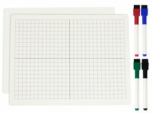Inkdotpot Dry Erase Board For Kids students Graph And Blank Lapboard ijp