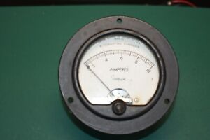 Simpson Model 57 Ac Current Panel Meter Working Condition