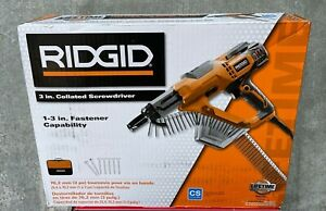 Ridgid R6791 3 In Drywall And Deck Collated Screwdriver Free Shipping
