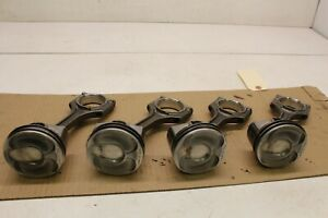 2013 2018 Ford Focus St Oem 2 0l Turbo Engine Pistons And Rods Set 50k Miles