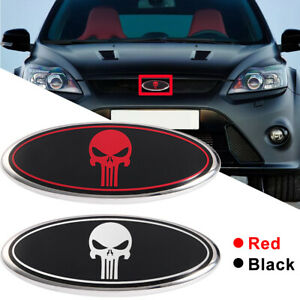 New Front Grille Rear Trunk Oval Emblem 7 9 Inch Fits Ford F150 F250 F350 Us