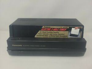 Panasonic Kx 20p Electric 3 Hole Punch Works Perfectly