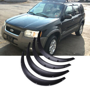 For Ford Escape Se Sel 4 X Car Cover Extra Wide Body Kits Wheel Fender Flares