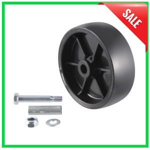 Curt 28912 6 Replacement Boat Trailer Marine Jack Wheel Caster With Bolt Bushing