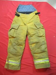 Globe Gx 7 34 X 30 Firefighter Turnout Bunker Pants Fire Gear Rescue Towing Tow
