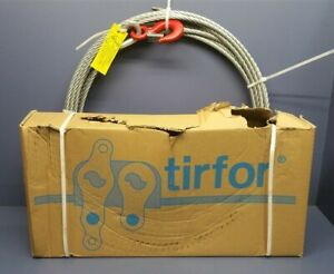 Tractel Tu 28 Griphoist 2 ton Hook With 60 X 7 16 Wire Rope Cable