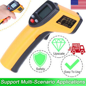 Infrared Thermometer Gun No Touch Digital Laser Temperature Lcd Reading