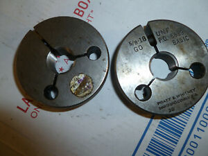 5 8 18 Thread Ring Gages