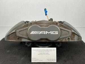 14 19 Rh Silver Brembo Front Caliper Mercedes Cla 45 Amg 117 Class Abs Awd