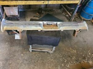 1964 Galaxie Rear Bumper Assembly Withbrackets Original 747002