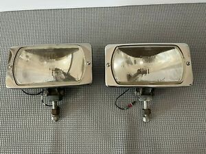 Vintage Pair Cibie Iode Driving Fog Light Projecteurs Cibie 95 Made In France