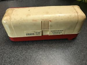 Vintage Ohaus 505 Precision Loading Scale Powder Reloading complete $99.00