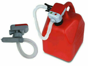 Tera Pump Battery Operated High Powered Fuel Gas Transfer Pump Auto Stop