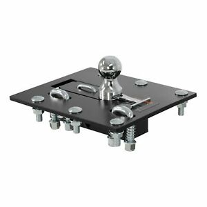 Curt Manufacturing Over Bed Folding Ball Gooseneck Hitch 61052