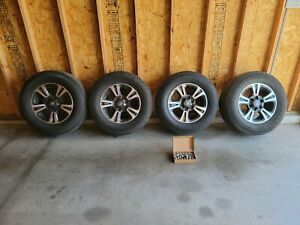2019 Toyota Tacoma Trd Sport 17 Aluminum Alloy Wheels And Tires Oem W Tpms