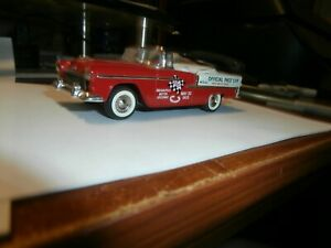 Collector Classic 143 Scale Die Cast Vehicle 1955 Chevy Pace Car