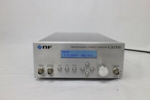 Nf Ca5350 Programmable Current Amplifier