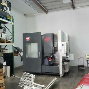 2014 Haas Umc 750 5 axis W bt40 Option Tsc Chip Blower Recent Cleaning 12k Rpm
