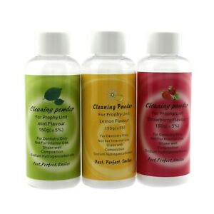 Dental Prophylaxis Cleaning Powder Air Flow Prophy Mate Lemon Mint Strawberry