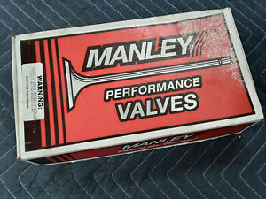 Manley Intake Exhaust Valves Dodge 340 Chrysler 11782 8 11781 8 Small Block L A