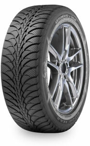 4 New 215 55r17 Goodyear Ultra Grip Ice Wrt Studless Tires 215 55 17 2155517