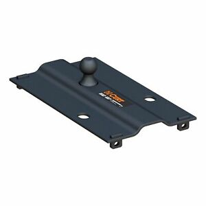 Curt 25k 5th Wheel Rail Bent Plate Gooseneck With 2 5 16 In Ball 16055
