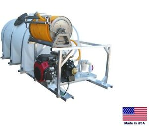 Sprayer Commercial Skid Mounted 35 Gpm 700 Psi 20 Hp 735 Gallon Tank