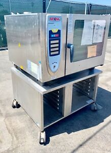 New Rational Gas Combi Combination Oven Steamer Scc 62g With Mobile Stand