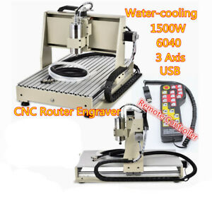 3 Axis 6040 Router Engraver Drill Milling Machine Woodwork Controller Heavy Duty