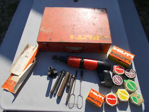 Hilti Dx 400 Powder Actuated Hammer Tool Plus More With Case