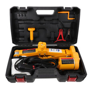 Electric Car Jack 3 Ton Dc 12v All in one Automatic Suv Lift Scissor Repair Tool