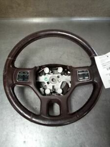 Brown Leather Steering Wheel With Cruise Buttons Fits 2013 2019 Ram 8094554