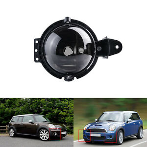 For Mini Cooper R55 R56 R57 R58 R59 Smoked Lens Front Driving Fog Light Assembly