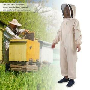 Bee Keeping Protect Suit Ventilated Full Body Beekeeping W Glove Hat Unisex Xl