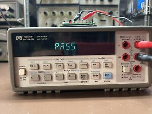 Agilent Hp 34401a Multimeter Used Tested Ships Free