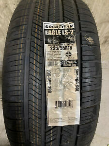2 New 255 55 18 109h Goodyear Eagle Ls 2 Tires