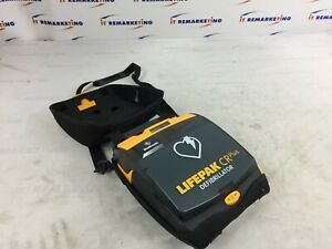 Lifepak Cr Plus Defibrillator W Carrying Case And Carrying Strap No Pads