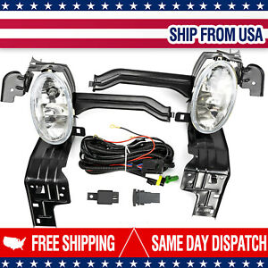 2x Front Bumper Driving Fog Lamps Light For Honda 2008 2010 Accord Ex Lx Coupe