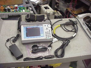 Anritsu S331l Site Master Cable Antenna Analyzer 5mhz To 4ghz With Arm Cable