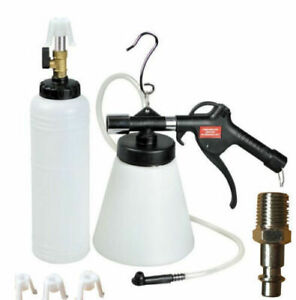New Pneumatic Brake Fluid Bleeder With4 Master Cylinder Metal Adapters 90 120 Psi