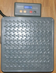 Digiweigh 400 Lb Pound Heavy Duty Metal Package Scale
